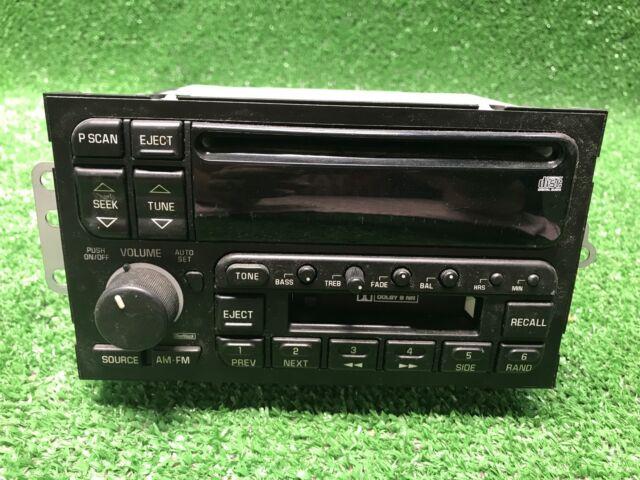 19942005 Gm Delco Buick Oldsmobile 16249434 Stereo Radio Cassette Rhebay: Gm Delco Radio Cd Usb At Gmaili.net
