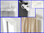 NEW-WHITE-Color-2-Sets-Curtain-Wall-Ceiling-Bracket-Rod-Holder-No-Drill-Needed thumbnail 4