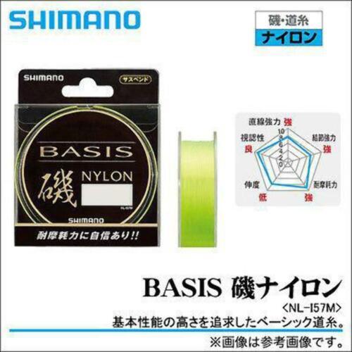 150m Shimano Basis ISO Fishing Main Line Mono Nylon