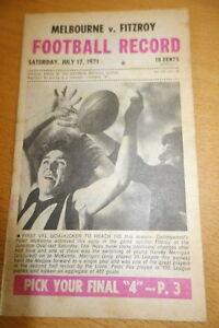 1971-VFL-FOOTBALL-RECORD-FITZROY-v-MELBOURNE-RND16