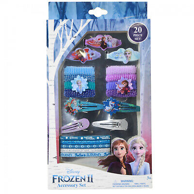 Disney Frozen ANNA ELSA OLAF Hair Clips 15 pcs GIRLS HAIR ACCESSORIES