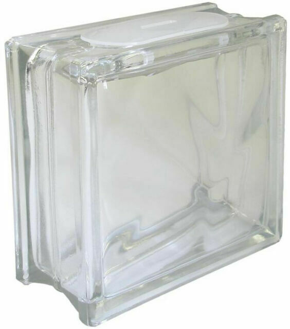 Clear Glass Vase Silk Arrangement Block, Decorative Glass Blocks
