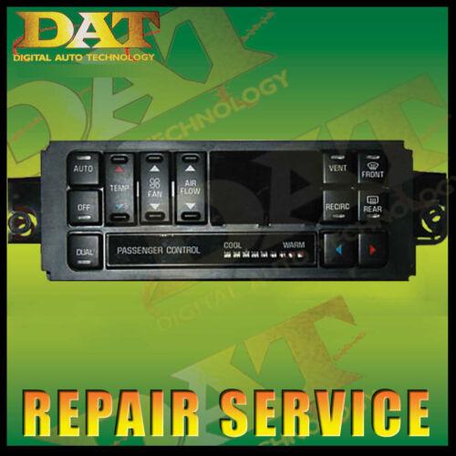 97-04 BUICK CENTURY REGAL AC HEATER CONTROL ATC REPAIR