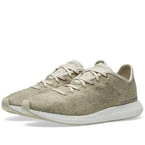sale retailer 91bfb 9179f Image is loading Adidas-Porsche-Travel-Tourer-Boost-Sneakers-Putty-Beige
