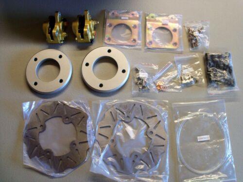 "Quadrax 01-04 Honda Rubicon 500 12/"" steel wheels Front Disc Brake Conversion Kit"
