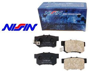 Details about NISSIN Japan REAR Brake Pads Set NPO-110W NPO110W
