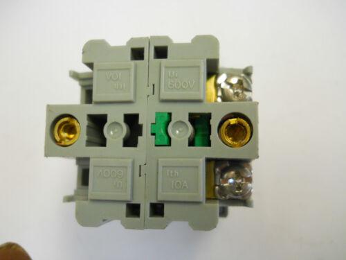 BST-010 BLACK PUSH BUTTON ASSEMBLY  NEW CONDITION NO BOX IDEC ABD110N-B