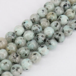 1 Bunch Natural Gemstone Round Loose Spacer Beads 4/6/8/10/12mm Jewelry Craft