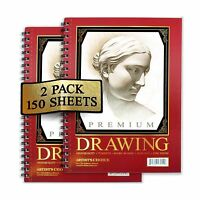 Artist's Choice Sketch Pad 75 Sheets Pack Of 2 Free Shipping