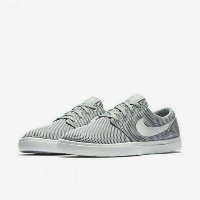 6b11dc9edc054 Nike SB Portmore II Ultralight Men's Size 9-10 (880271 011) Wolf Grey/White