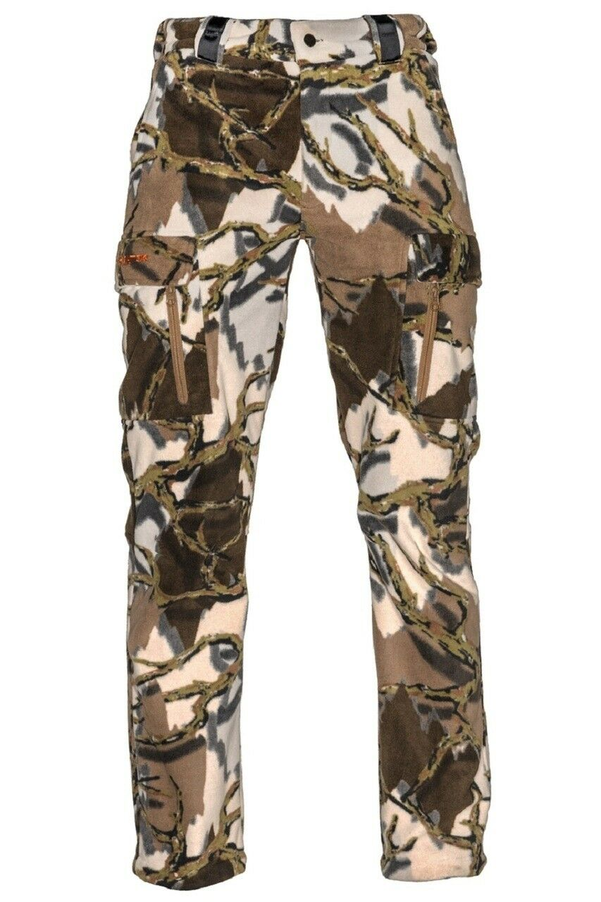 Predator Stealth Micro Fleece Pants - Brown Deception Camo  P511 P511X