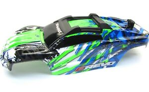 1-10-BRUSHLESS-E-REVO-2-0-VXL-BODY-shell-Green-cover-clipless-mounting-86086-4