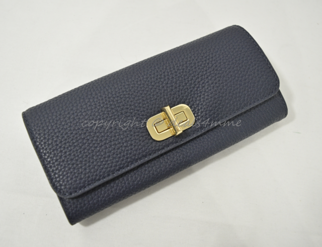 f2dc74631613bd NWT MICHAEL Michael Kors Sullivan Large Carryall Leather Wallet in Admiral  Blue