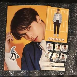 Details about NCT 127 JOHNNY 2019 season greetings Official Sticker set