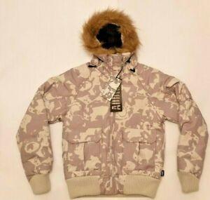 Women-039-s-Addict-Parka-Duck-Down-Coat-in-Snow-Jago-Camo-Brand-New-Was-125