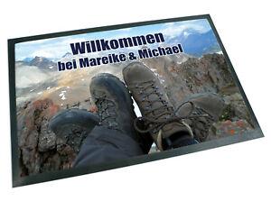 Fussmatte-mit-Name-Wandern-Abenteuer-Berge-Geschenk-Hochzeit-Einzug-Paare-Outdoor