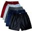 M L XL 2XL Men/'s Thai Silk Boxer Shorts 5 Pairs//Pack Briefs Boxers Underwear