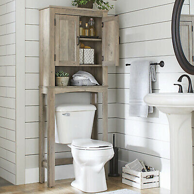 Over The Toilet Bath Cabinet Bathroom Space Saver Storage