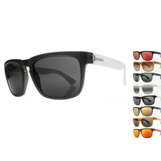 NEW Electric Knoxville XL Melanin Ohm Lens Mens Square Sunglasses Msrp$100