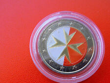 * Malta 2 euro 2008 farbenopplic.
