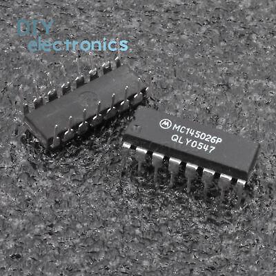 1//5PCS MC145026P MC145028P DIP 16PIN IC Encoder and Decoder Pairs CMOS
