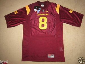 competitive price fe763 a28f3 Details about Arizona State Sun Devils ASU Nike Pat Tillman Patch Jersey M  Medium mens New