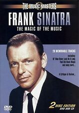 Frank Sinatra - The Magic Of The Music ( DVD & CD ) u.a Stardust, Witchcraft