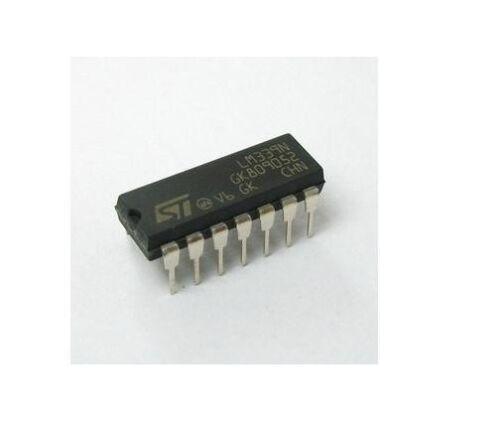 5 x LM339N LM339 IC LOW POWER QUAD VOLTAGE COMPARATORS