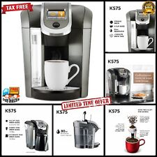 Keurig K575 Single Serve Programmable K-Cup Coffee Maker with 12 Oz Brew Size