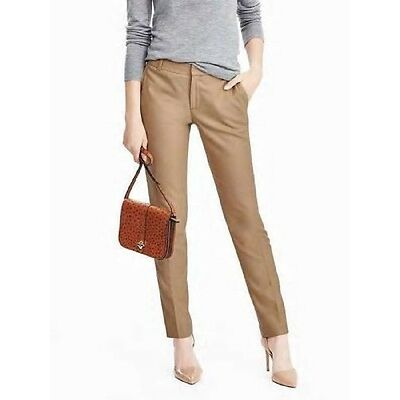 BANANA REPUBLIC WOMENS RYAN FIT LUXURY ITALIAN FLANNEL PANTS $110.00  4 6 8 10
