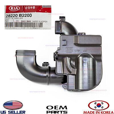 KIA OEM 14-16 Forte Air Cleaner Intake-Resonator Duct Tube Hose 28220A7000