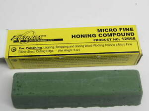 Formax Green Chrome Oxide Honing Compound 6 Oz Bar For