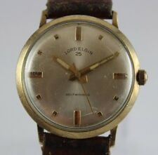Vintage Lord Elgin Automatic 25 Jewels 33mm Men's Wrist Watch LOT#0412