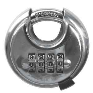 ASEC Combination Discus Padlock Ideal for Lockers Gym Sports School