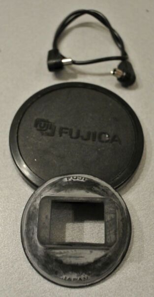 (prl) Fujica Cap Tappo Synch Ricambio Ricambi Spare Part Parts As It Is Like Pic Non Repassant