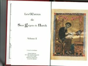 Trésor fêtes Hymnes odes Grégoire D Narek -oeuvres tome 2 -A&jP Mahé - Arménie