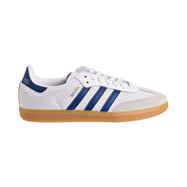 Adidas Originals Samba OG Men's Shoes Cloud White Legend Marine bd7545