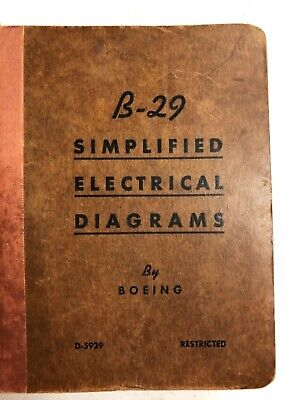 Boeing B-29 Simplified Electrical Diagrams Original | eBay on boeing engine, boeing fuel tank, boeing dimensions, boeing wiring symbols, boeing assembly, boeing wiring design, boeing exploded view, boeing antenna,