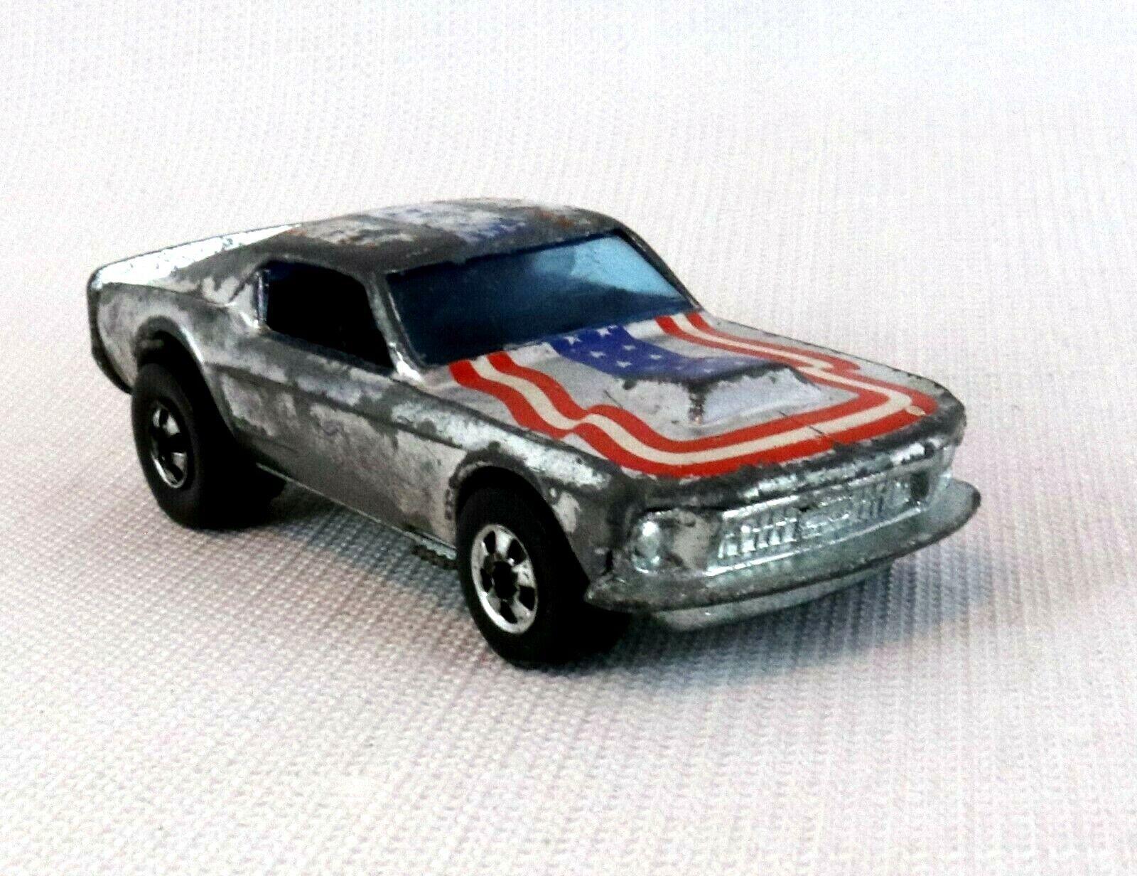 Hot wheels Vintage rotline Mustang stocker Chrome 1974 Hong Kong Diecast Toy Car