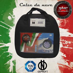 CALZE DA NEVE OMOLOGATE SMC PER PNEUMATICI 245//40 R 18 TAGLIA L