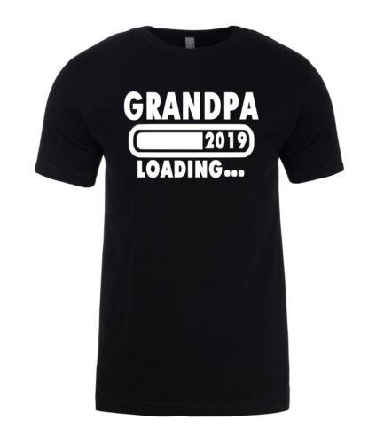 GRANDPA Loading 2019 GRANDSON Newborn  Mens T-Shirt