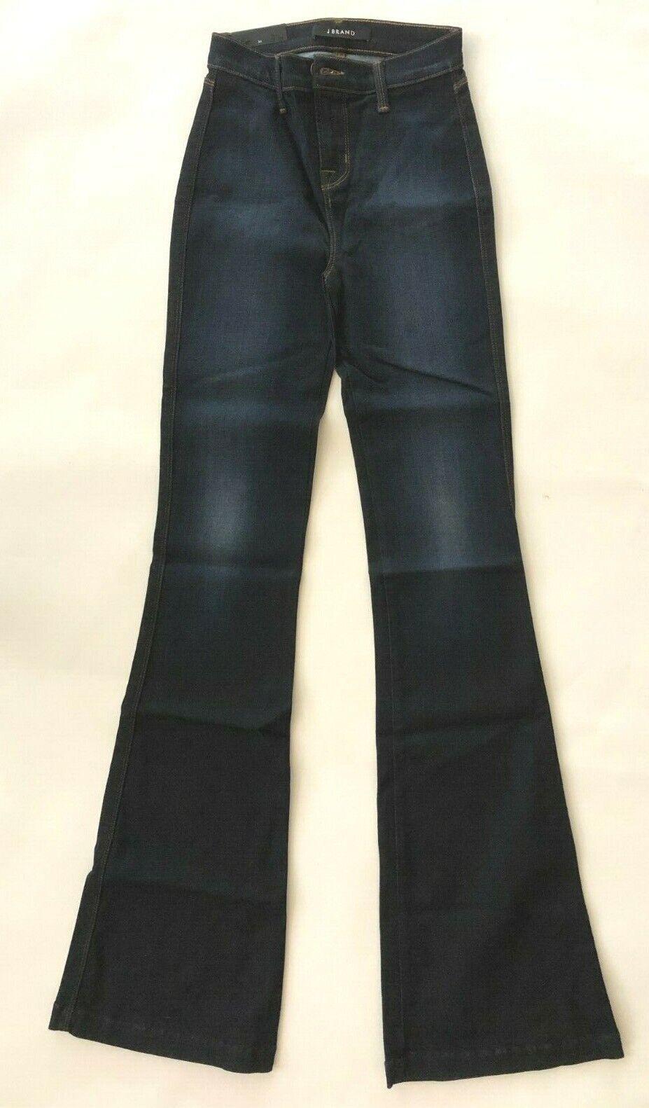 Nwt j brand halle end lumineux 822o208 bleu lawless high waist femmes jeans