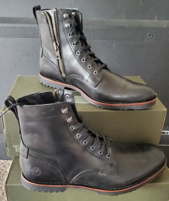 a9cf33b5dee NEW AUTHENTIC TIMBERLAND KENDRICK SIDE ZIP BOOT US 7.5 -- 13