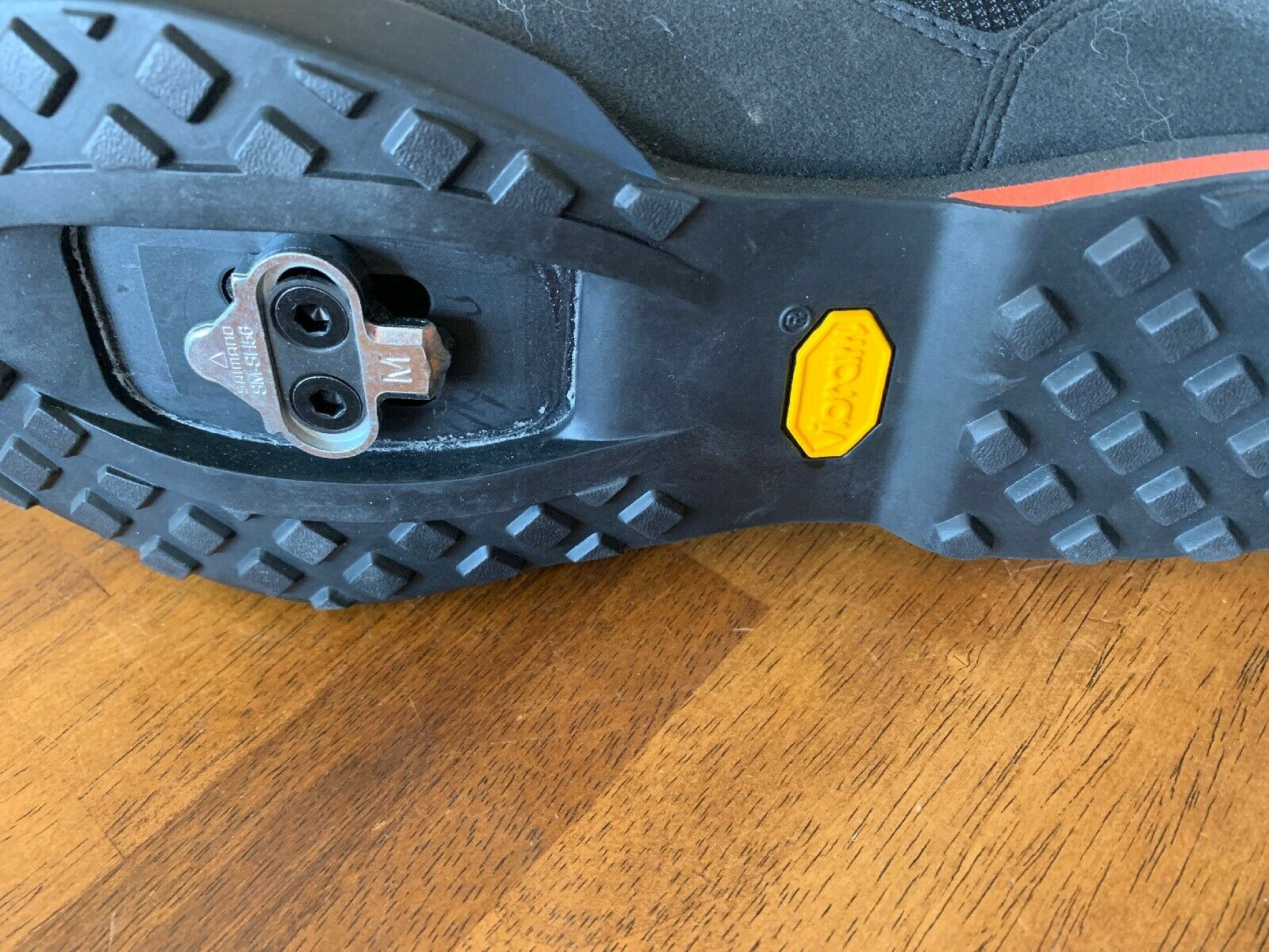 Vibram Giro Rumble VR VR VR (Negro Naranja, nosotros Para Hombres Zapatos De Bicicleta 8 UE 41) 9e9df5