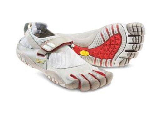 VIBRAM Fivefingers W4423 TrekSport Champagne Red Barefoot Running shoes Sandal 36