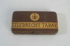 Alte Blechdose Eilebrecht Tabakdose