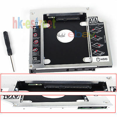 New 2nd Hard Drive HDD SSD Caddy for acer Aspire 4741G 4743G 5741 7741