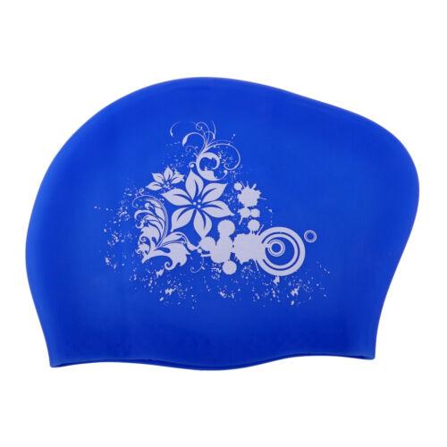 Shower Capfor Long HairWomen /&Men Dark Blue Details about  /Extra Large Swimming Cap