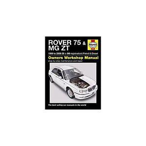 genuine haynes owners workshop manual rover 75 mg zt petrol rh ebay co uk Workshop Manuals for Cars Haynes Titanic Workshop Manual