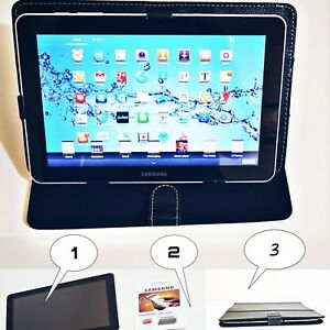 Details about 10 inch Samsung Galaxy Tab with sim slot + FREE gift 32gb  Memory Card and Casin